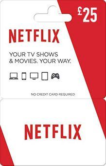 Netflix Gift Card - £25