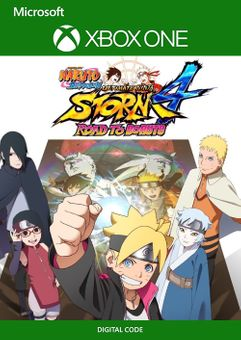 Naruto Shippuden Ultimate Ninja Storm 4 Road to Boruto Xbox One (UK)
