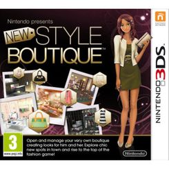 New Style Boutique 3DS - Game Code