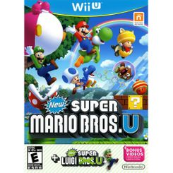 New Super Mario Bros + New Super Luigi Wii U - Game Code