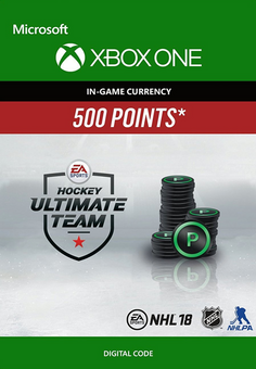 NHL 18: Ultimate Team NHL Points 500 Xbox One