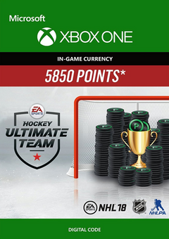 NHL 18: Ultimate Team NHL Points 5850 Xbox One