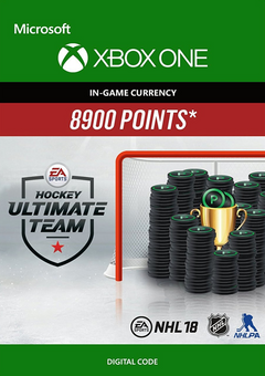 NHL 18: Ultimate Team NHL Points 8900 Xbox One