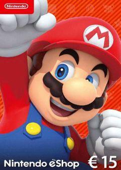 Nintendo eShop Card - 15 EUR
