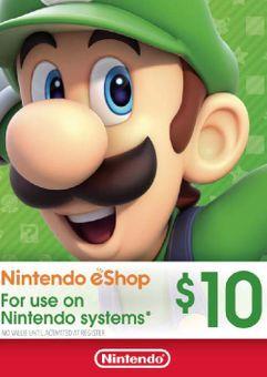Nintendo eShop Card - 10 CAD