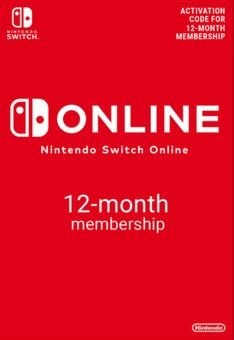 Nintendo Switch Online 12 Month (365 Day) Membership Switch