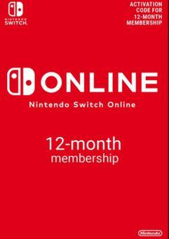 Nintendo Switch Online 12 Monate (365 Tage) Mitgliedschaft Switch (US)
