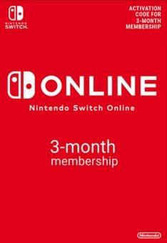 Nintendo Switch Online 3 Month (90 Day) Membership Switch (EU)