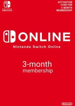 Nintendo Switch Online 3 Month (90 Day) Membership Switch (AUS/NZ)