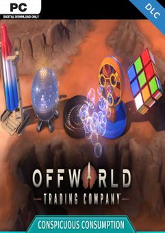 Offworld Trading Company - Conspicuous Consumption PC - DLC