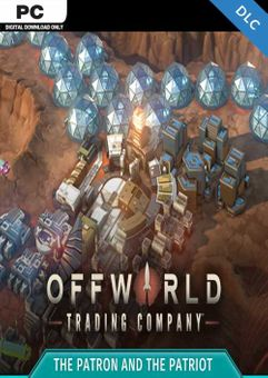 Offworld Trading Company - The Patron and the Patriot PC - DLC