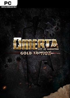 Omerta - City of Gangsters Gold Edition PC (EU)