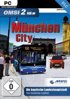 OMSI 2 Add-On München City PC - DLC