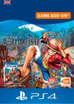 One Piece World Seeker: Episode Pass PS4 (UK)
