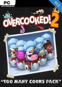 Overcooked! 2 - Too Many Cooks Pack PC - DLC