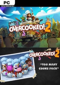 Overcooked! 2 + Too Many Cooks Pack PC