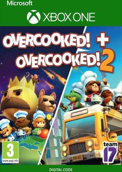 Overcooked! + Overcooked! 2 Xbox One (UK)