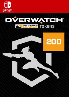 Overwatch League - 200 League Tokens Switch (EU)
