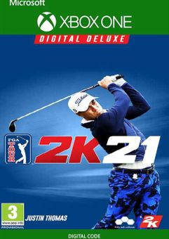 PGA Tour 2K21 Deluxe Edition Xbox One (EU)