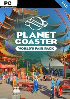 Planet Coaster PC - World's Fair Pack DLC