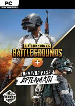 PlayerUnknown's Battlegrounds (PUBG) PC + Survivor Pass 4 Aftermath DLC