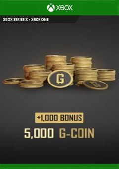 PlayerUnknowns Battlegrounds 6000 G-Coins Xbox One