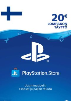 Playstation Network (PSN) Card 20 EUR (Finland)