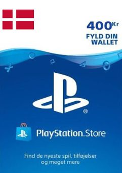 Playstation Network (PSN) Card 400 DKK (Denmark)