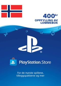 Playstation Network (PSN) Card 400 NOK (Norway)
