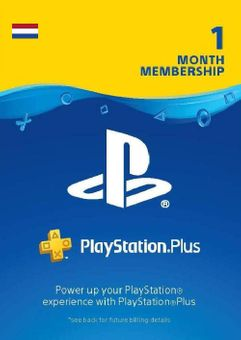 Playstation Plus - 1 Month Subscription (Netherlands)