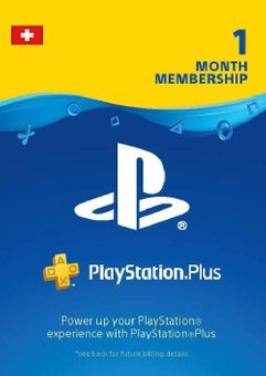 Playstation Plus - 1 Month Subscription (Switzerland)