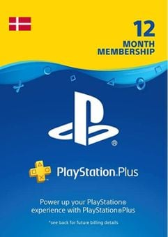 Playstation Plus - 12 Month Subscription (Denmark)