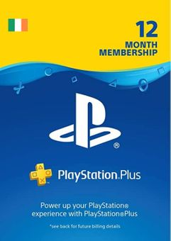 PlayStation Plus - 12 Month Subscription (Ireland)