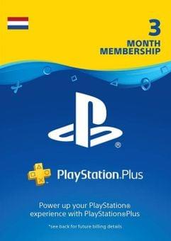Playstation Plus (PS+) - 3 maanden abonnement (Nederland)