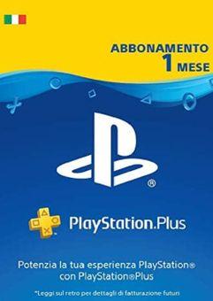 Playstation Plus - Suscripción de 1 mes (Italia)
