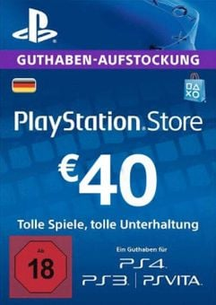 PlayStation Network (PSN) Card - 40 EUR (Germany)