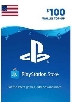 Tarjeta PlayStation Network (PSN) - 100 USD (USA)
