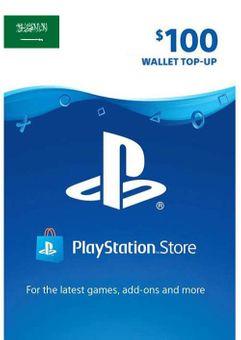 PlayStation Network (PSN) Card - 100 USD (KSA)