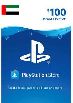 PlayStation Network (PSN) Card - 100 USD (UAE)