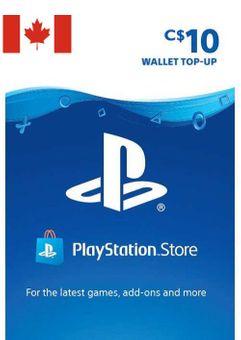 Tarjeta PlayStation Network (PSN) - 10 CAD (CANADA)