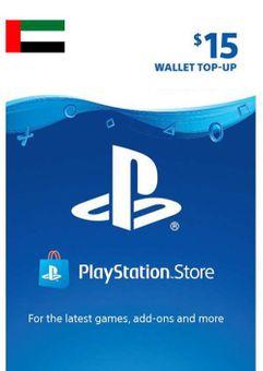 PlayStation Network (PSN) Card - 15 USD (UAE)