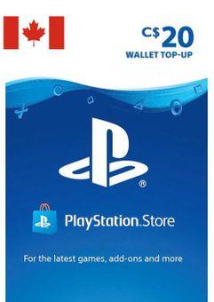Tarjeta PlayStation Network (PSN) - 20 CAD (CANADA)
