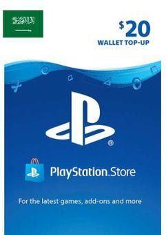 PlayStation Network (PSN) Card - 20 USD (KSA)
