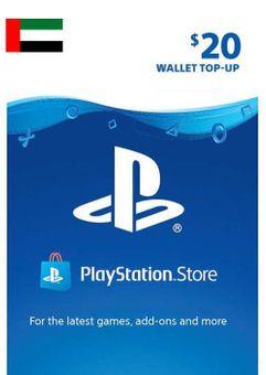 PlayStation Network (PSN) Card - 20 USD (UAE)