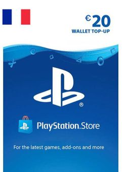 PlayStation Network (PSN) Card - 20 EUR (France)