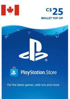 Tarjeta PlayStation Network (PSN) - 25 CAD (CANADA)