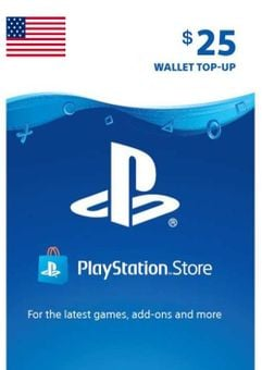 Tarjeta PlayStation Network (PSN) - 25 USD