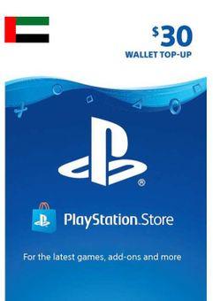 PlayStation Network (PSN) Card - 30 USD (UAE)