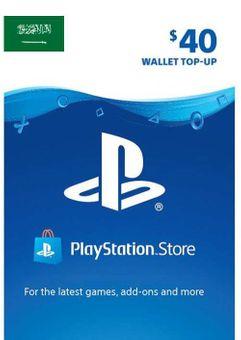 PlayStation Network (PSN) Card - 40 USD (KSA)