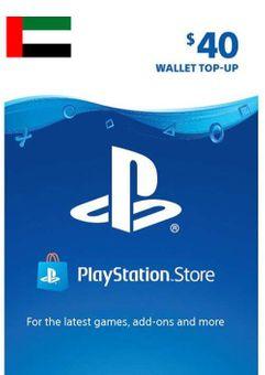 PlayStation Network (PSN) Card - 40 USD (UAE)